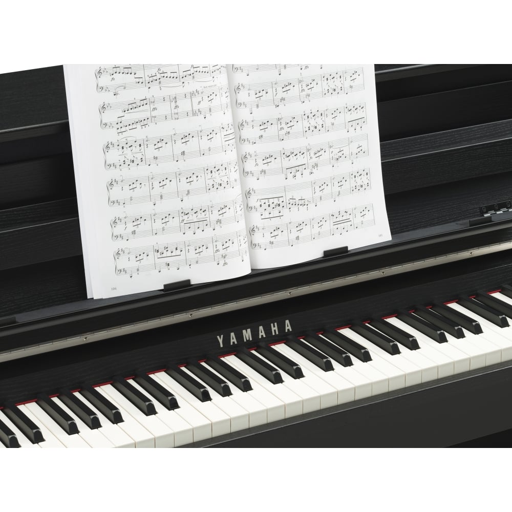 yamaha clp 685 clavinova digital piano black package from rimmers music. Black Bedroom Furniture Sets. Home Design Ideas