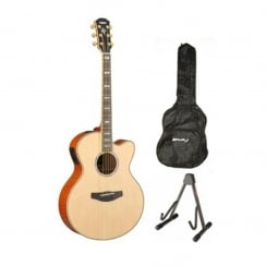 Yamaha CPX1000 Electro Acoustic Guitar Package | Natural