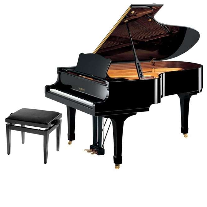 Yamaha DC5X E3 Pro Disklavier Grand Piano | Polished Ebony