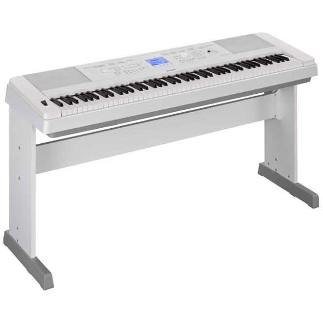 Yamaha DGX660 Digital Piano | White