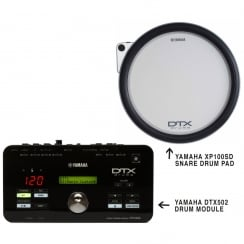 Yamaha DTX Upgrade Pack with module and snare pad