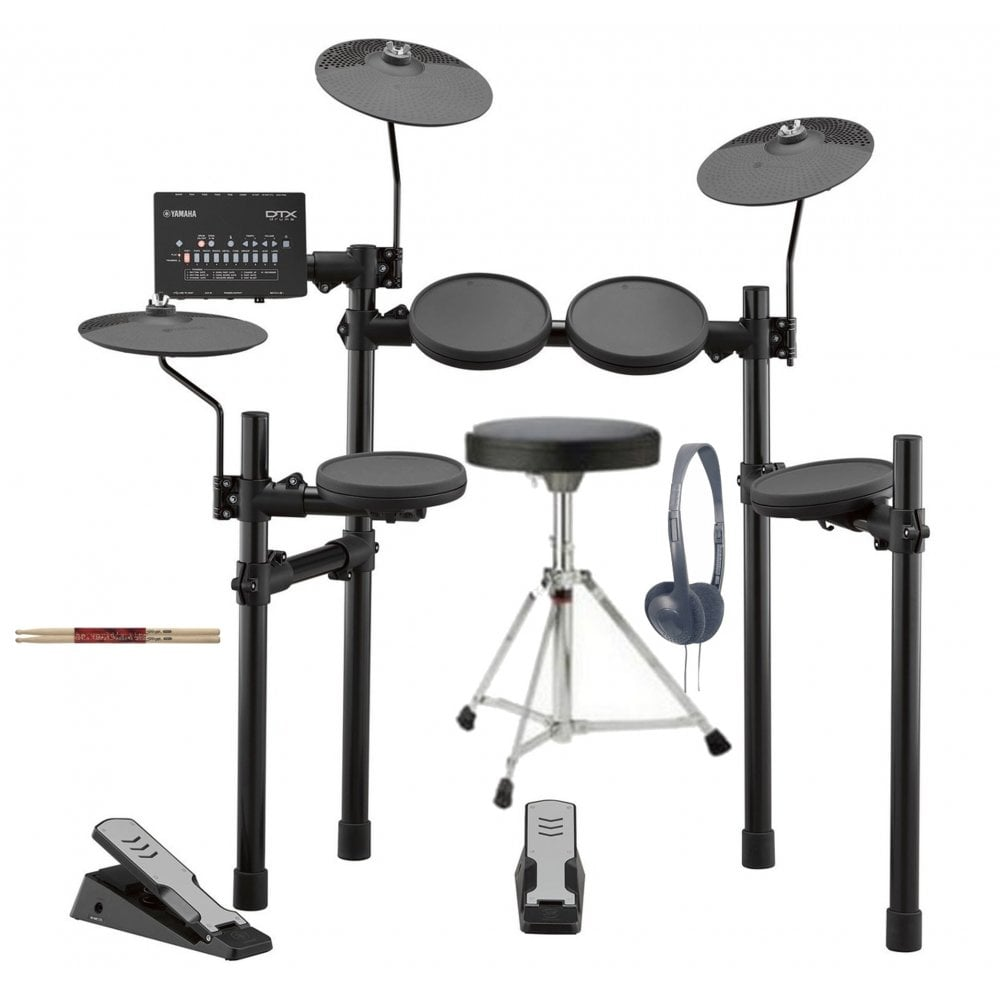 Yamaha DTX402 Electronic Drum kit Package