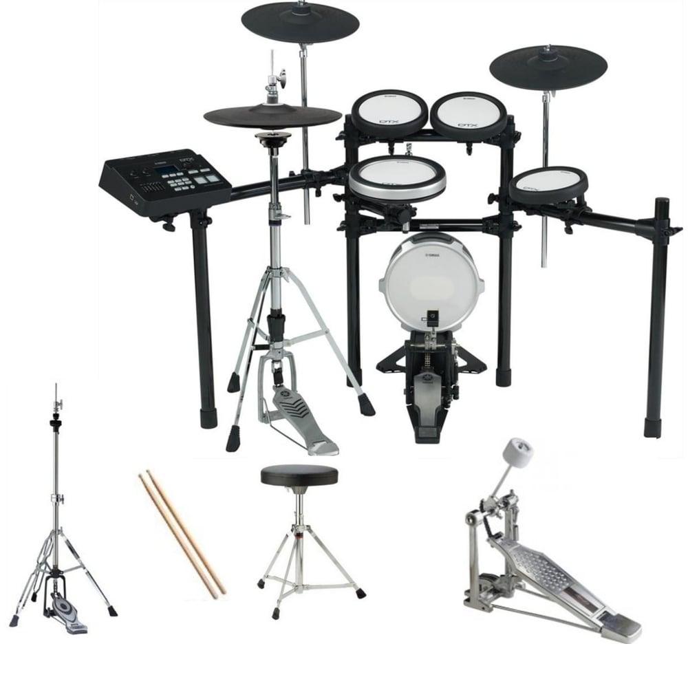 Yamaha Dtxk Digital Drum Kit Bundle