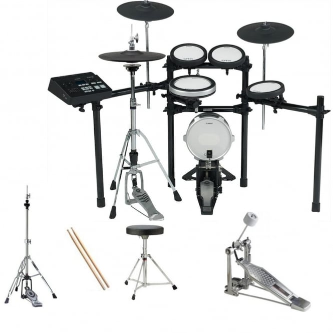 Yamaha DTX720 Digital Drumkit Bundle