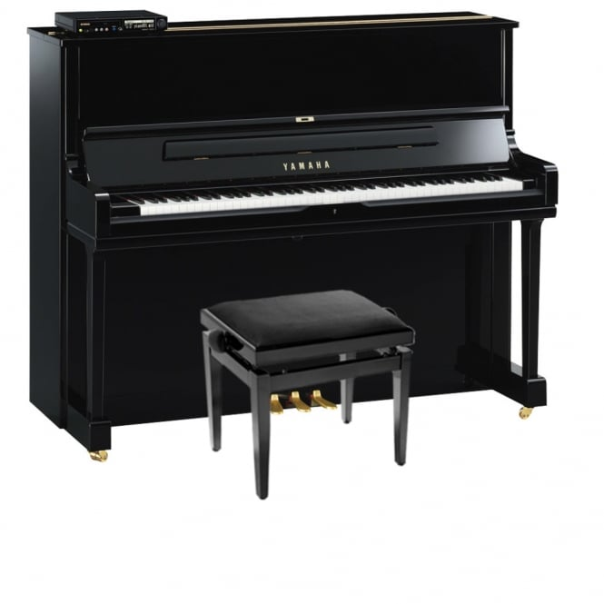 Yamaha DYU1S E3 Disklavier Upright Piano | Polished Ebony