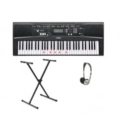 Yamaha EZ220 Keyboard | XX Frame & Headphones Package