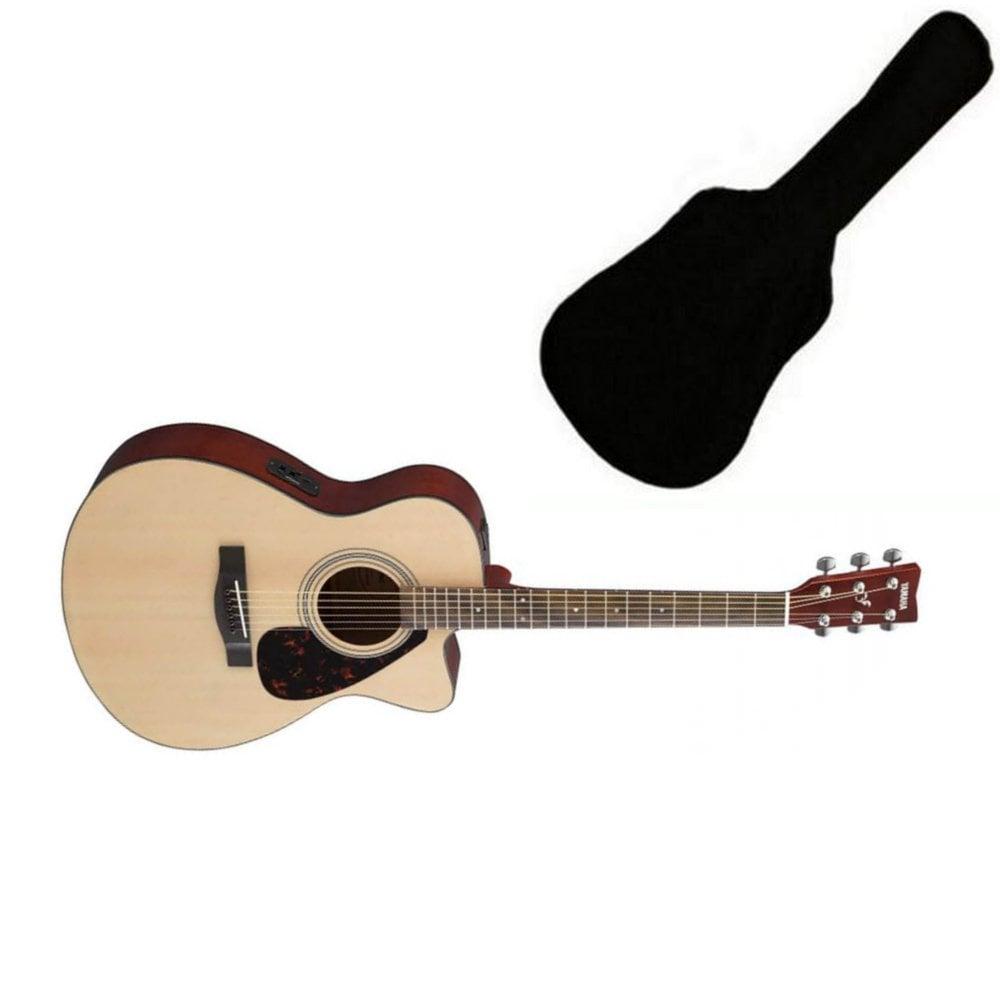 Yamaha Fsx315c Electro Acoustic Guitar Natural