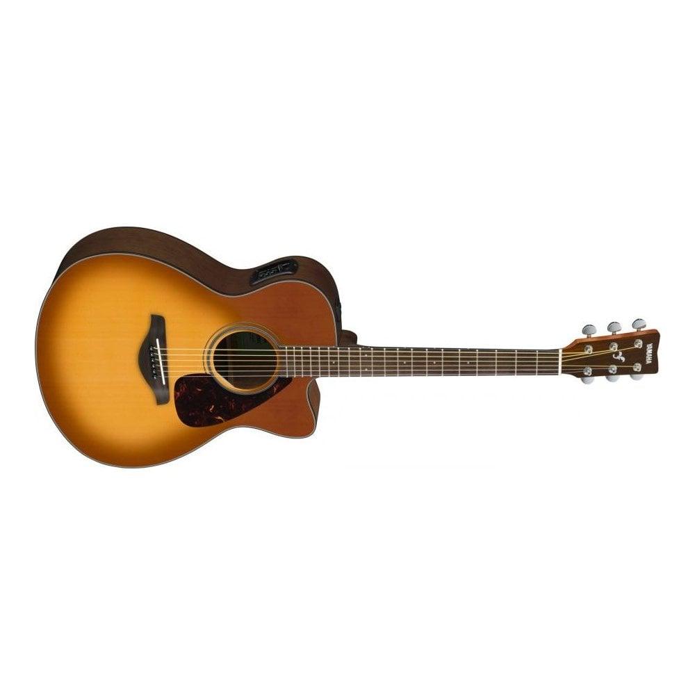 Buy Here Pay Here Ri >> Yamaha FSX800C | Electro Acoustic Guitar | Sand Burst