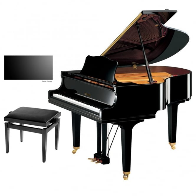 Yamaha GC1 Grand Piano | Satin Ebony