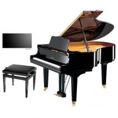 Yamaha GC2 Baby Grand Piano | Satin Ebony