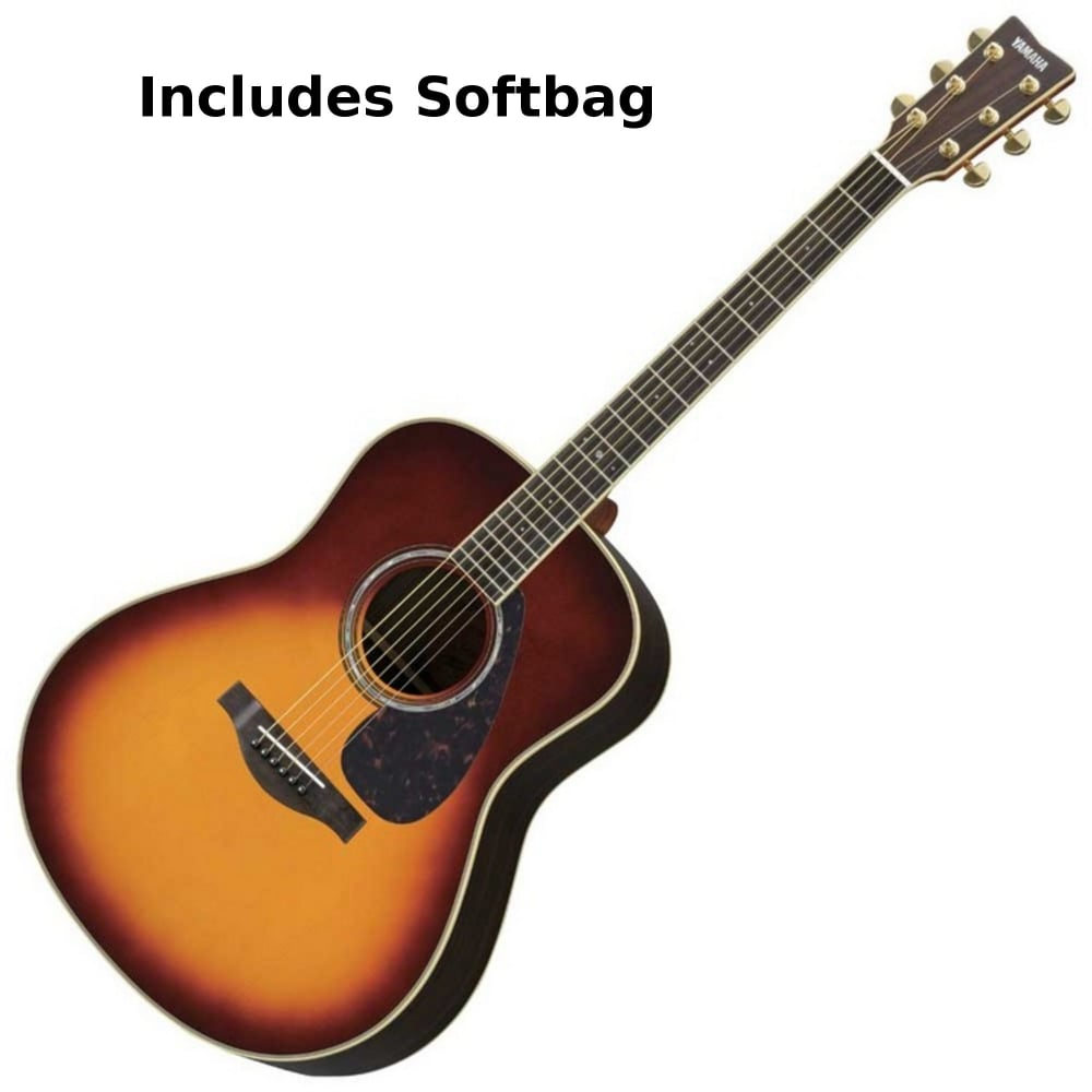 Yamaha Ll6are Acoustic Guitar Brown Sunburst From Rimmers