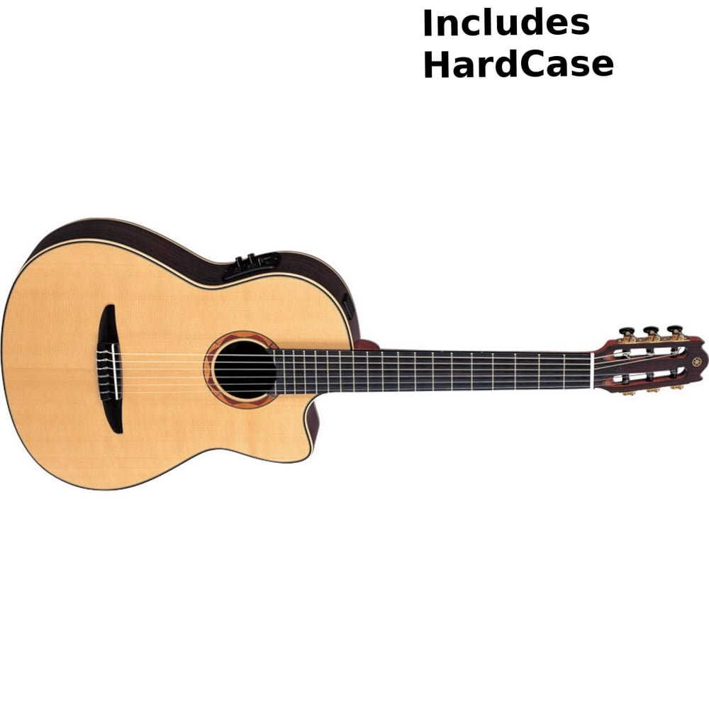 yamaha ncx2000r acoustic electric guitar natural from rimmers music. Black Bedroom Furniture Sets. Home Design Ideas