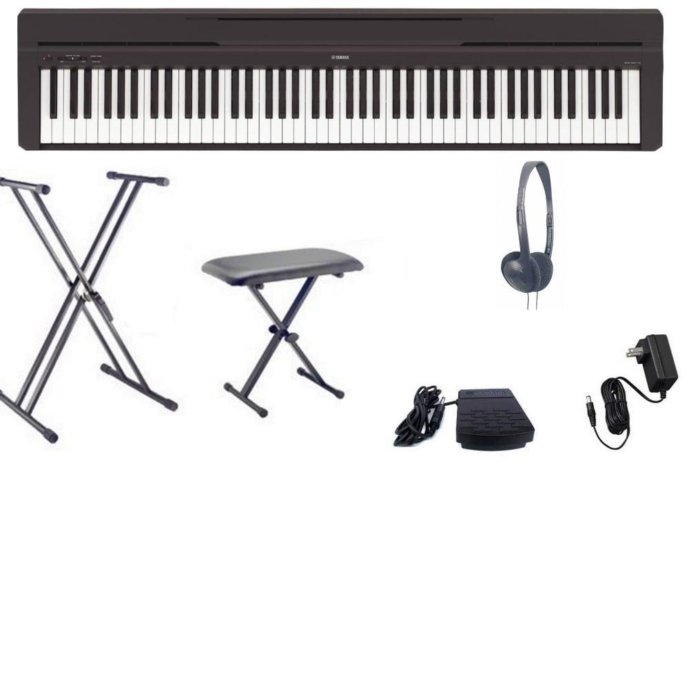 yamaha p 45 digital piano big bundle from rimmers music. Black Bedroom Furniture Sets. Home Design Ideas