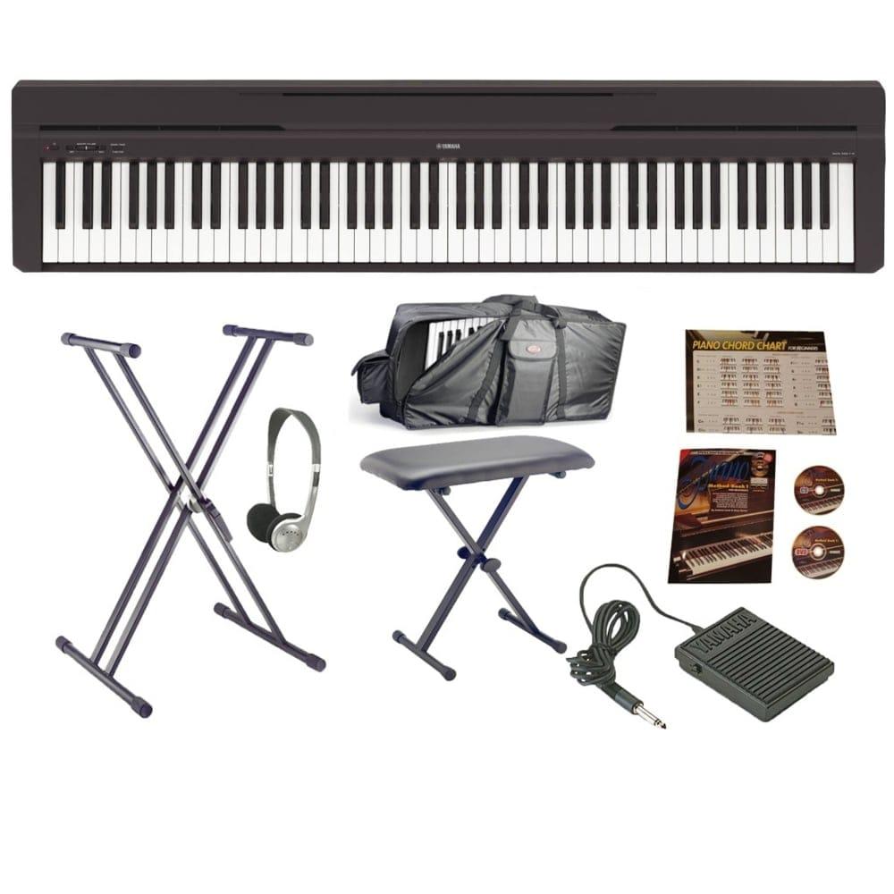 Yamaha p 45b portable piano from rimmers music for Yamaha p 45b