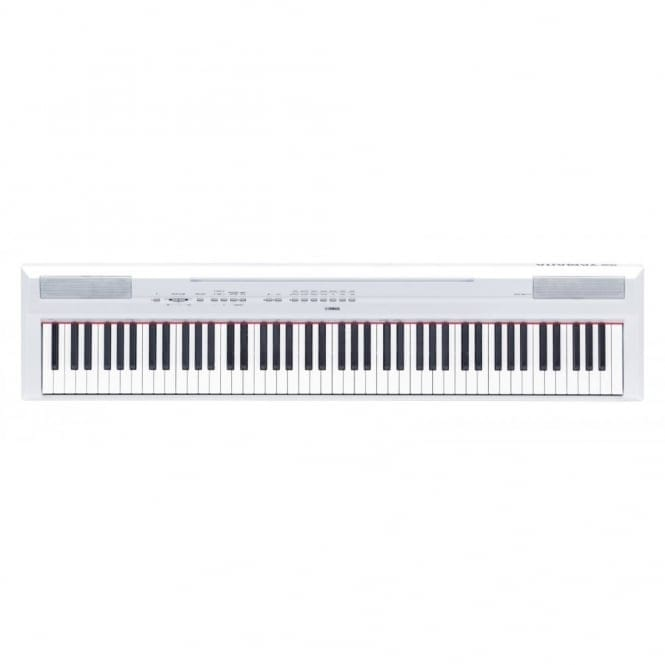 Yamaha P115 Portable Piano In White