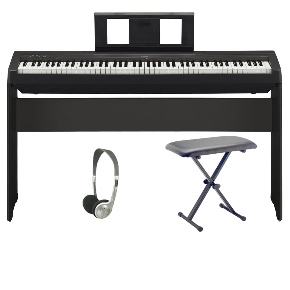 yamaha p45 digital piano from rimmers music. Black Bedroom Furniture Sets. Home Design Ideas