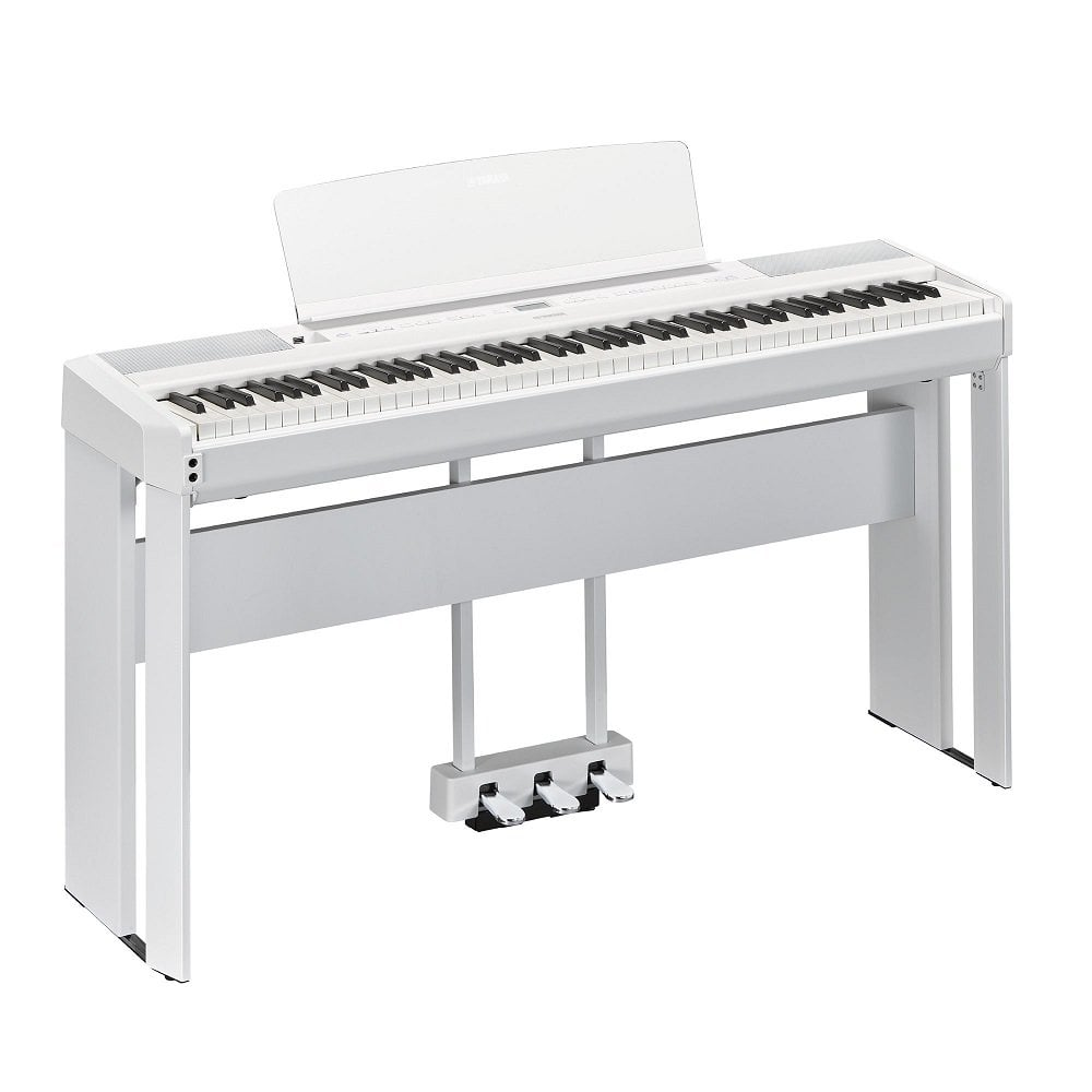 Yamaha P515 Personal Digital Piano White With LP1 and L515