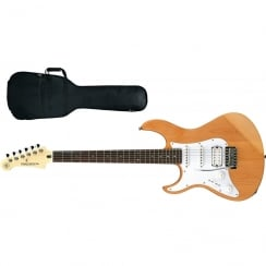 Yamaha Pacifica 112JL Electric Guitar | Left Handed | Natural Satin