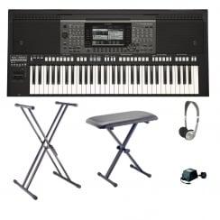 Yamaha PSR A3000 Workstation Bundle