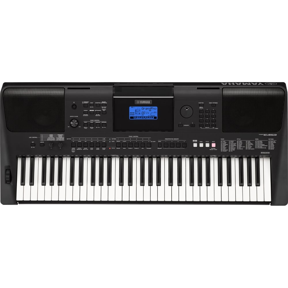 yamaha psr e453 home keyboard from rimmers music. Black Bedroom Furniture Sets. Home Design Ideas
