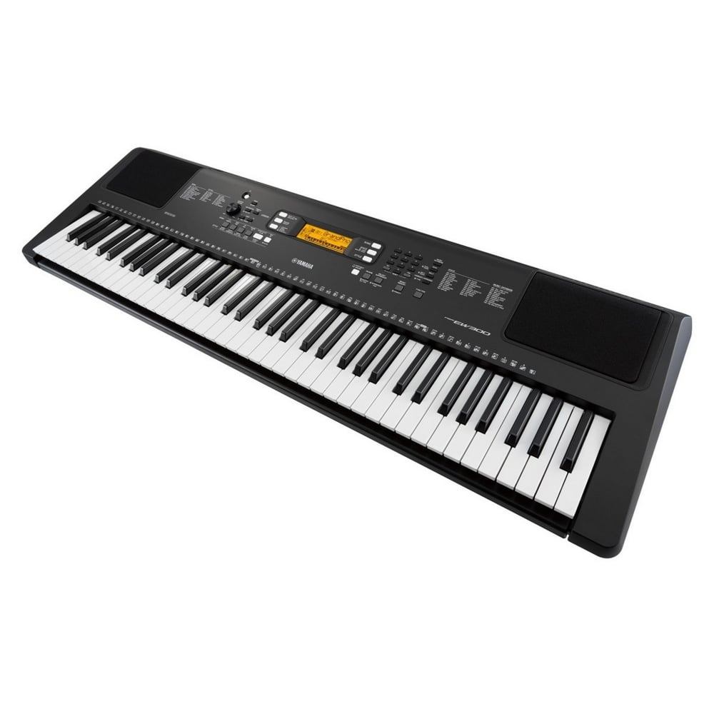 Yamaha psr ew300 portable keyboard xx frame and headphones for Yamaha psr ew