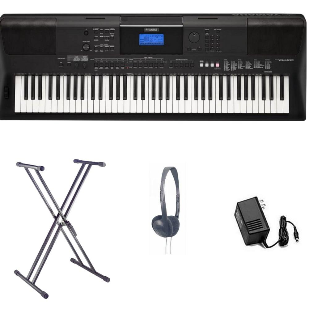 Yamaha psr ew400 home keyboard bundle from rimmers music for Yamaha ew 400
