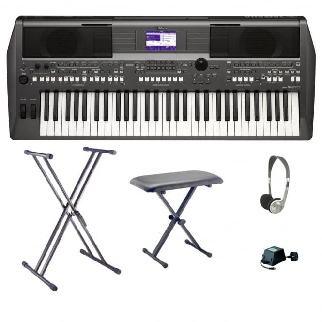 Keyboard Music Workstations : yamaha psr s670 workstation keyboard bundle from rimmers music ~ Hamham.info Haus und Dekorationen