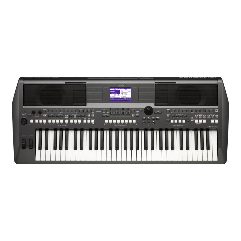 Yamaha psr s670 workstation keyboard from rimmers music for Yamaha 650 keyboard