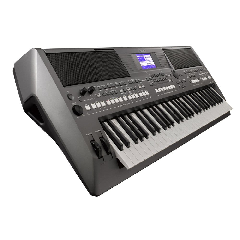 yamaha psr s670 workstation keyboard from rimmers music. Black Bedroom Furniture Sets. Home Design Ideas