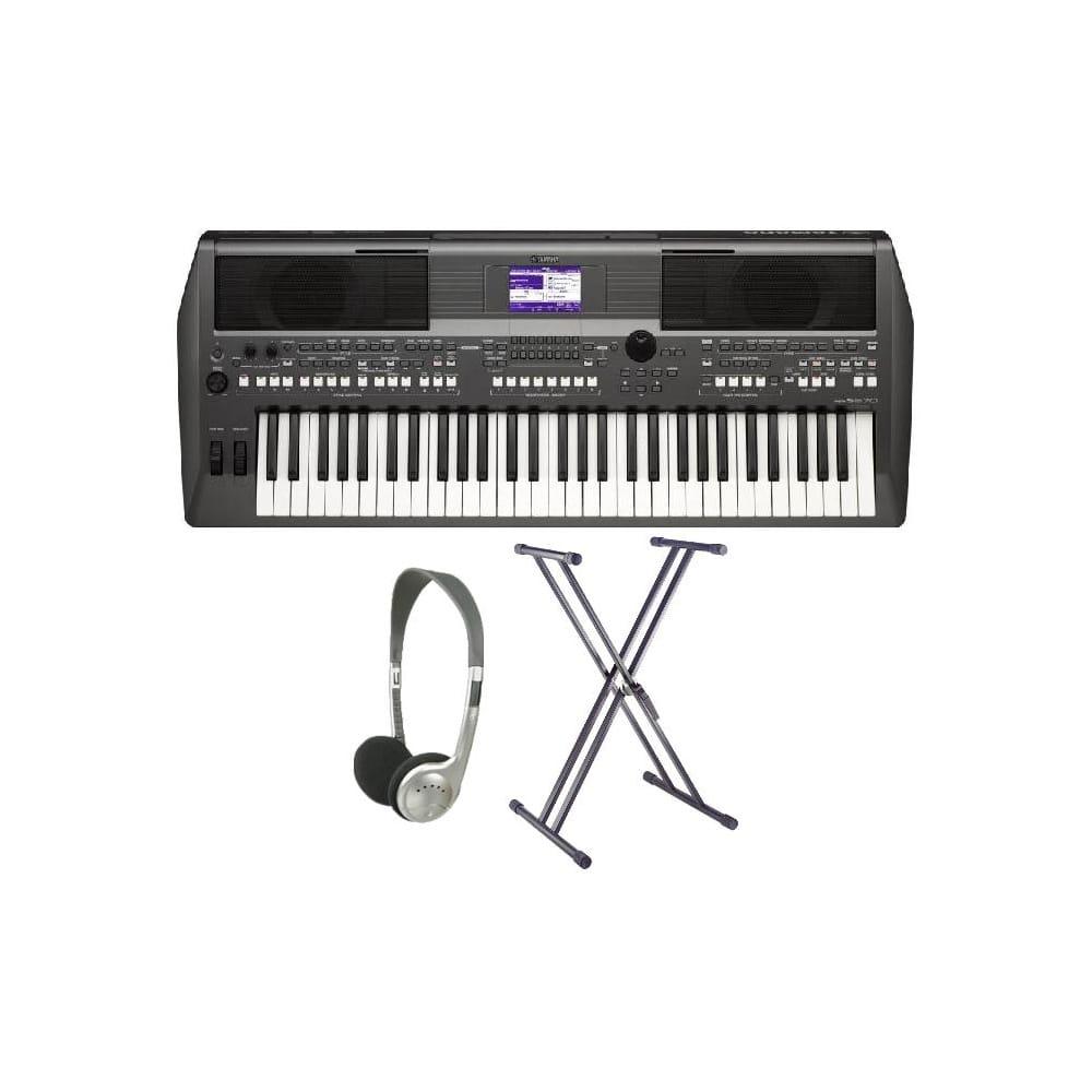 Yamaha PSR S670 Workstation Keyboard XX Frame Package