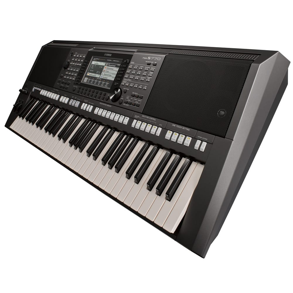 yamaha psr s770 arranger workstation keyboard from rimmers. Black Bedroom Furniture Sets. Home Design Ideas