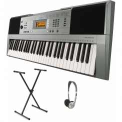 Yamaha PSRE353 Portable Keyboard with XX Frame & Headphones