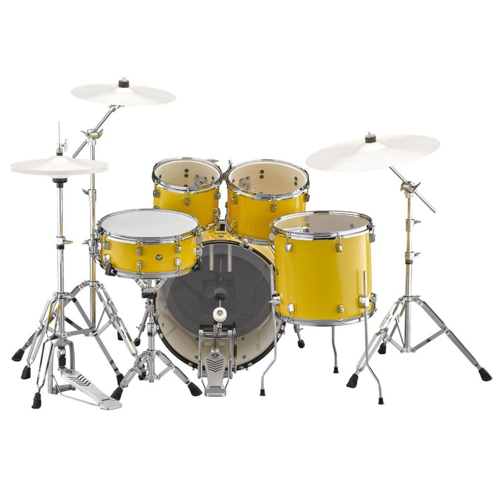 Yamaha Rydeen 20 Drum Kit W Hardware Mellow Yellow Package From Rimm