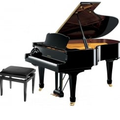 Yamaha S Series S4 SH Silent Grand Piano | Polished Ebony