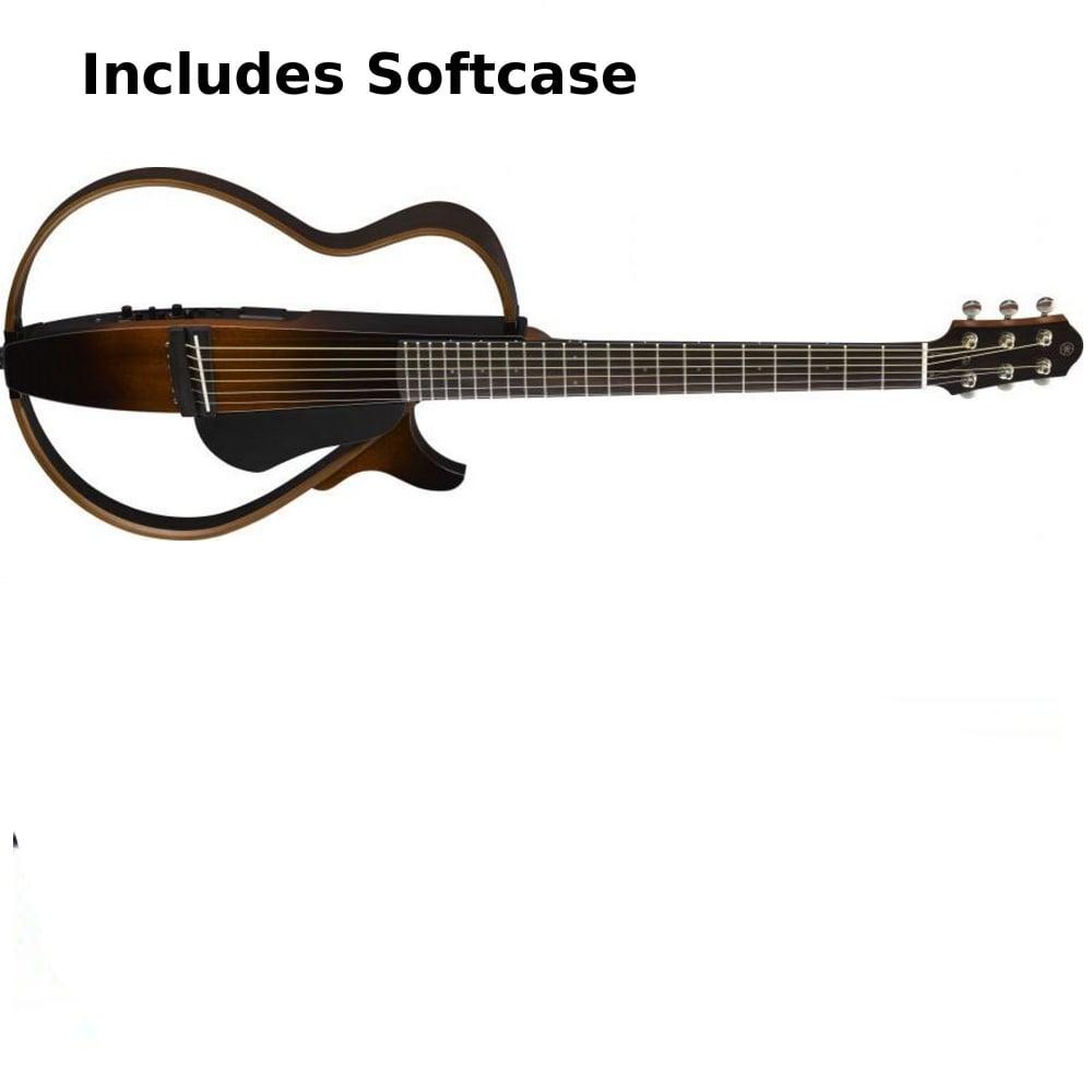 Yamaha Slg200s Steel String Silent Guitar Sunburst From