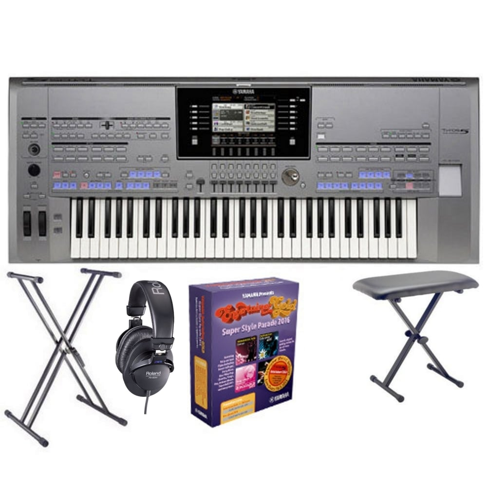 Yamaha tyros 5 keyboard 61 key from rimmers music for Yamaha expansion pack