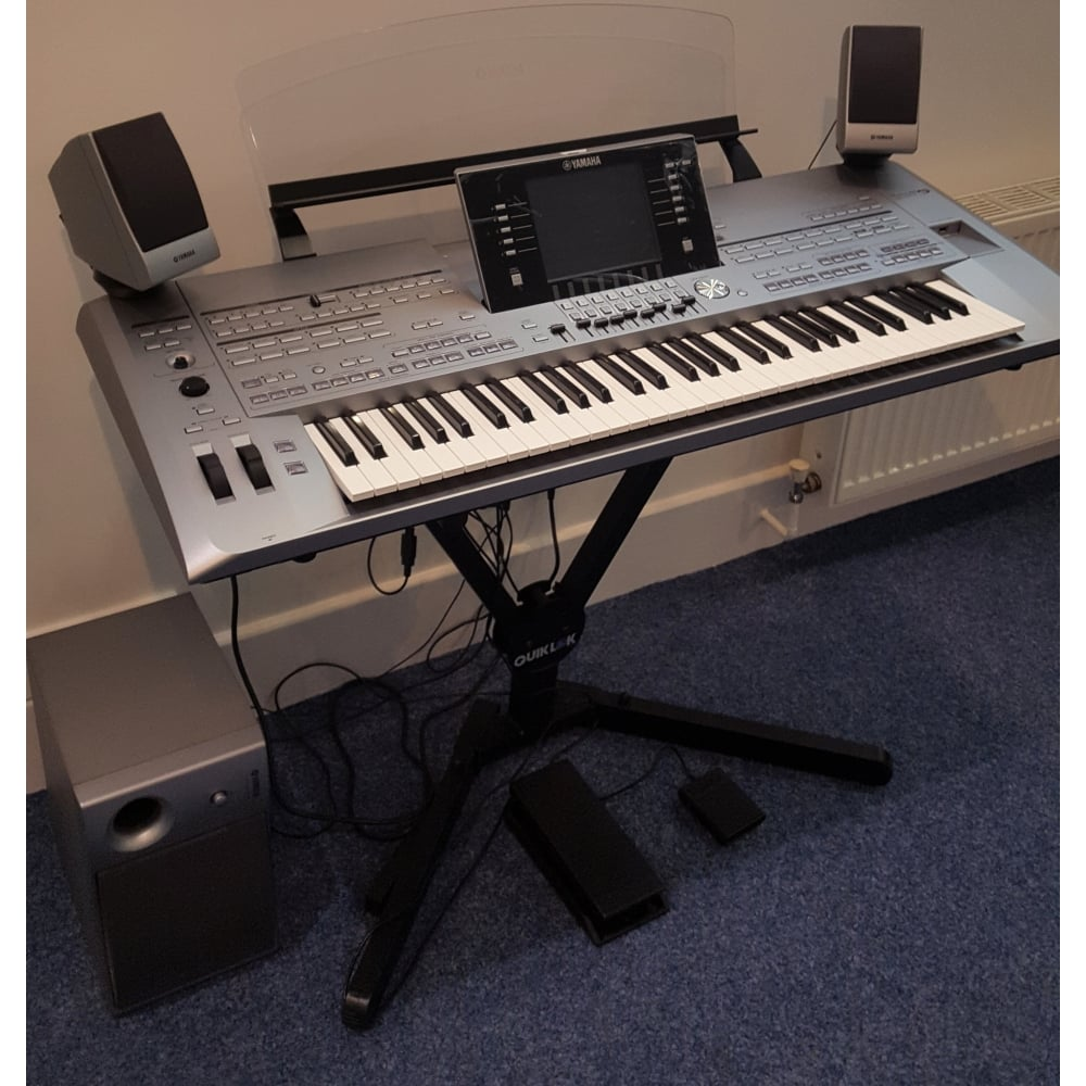 yamaha tyros 5 61 key keyboard and ms05 speaker ex display. Black Bedroom Furniture Sets. Home Design Ideas