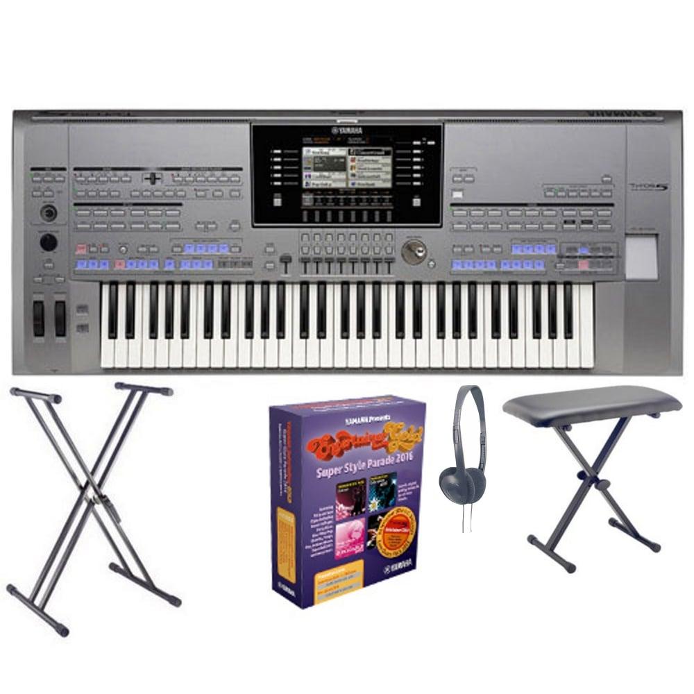 yamaha tyros 5 keyboard 61 key refurb from rimmers music. Black Bedroom Furniture Sets. Home Design Ideas