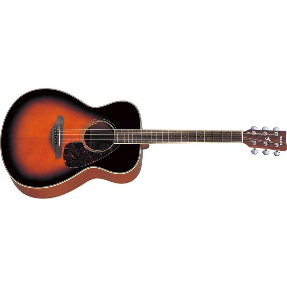 Yamaha fs720 acoustic guitar brown sunburst for Yamaha fs 310 guitar