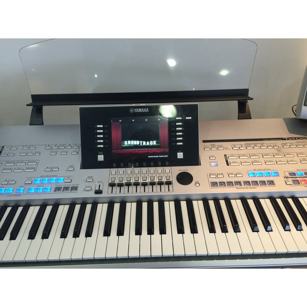 Download soundfont yamaha tyros 4 for Yamaha keyboard parts