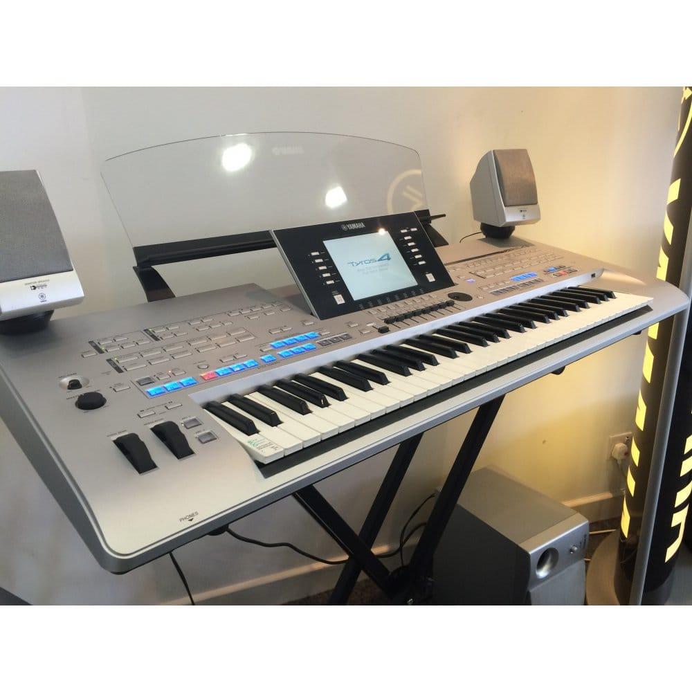 used yamaha tyros 4 inc speakers. Black Bedroom Furniture Sets. Home Design Ideas