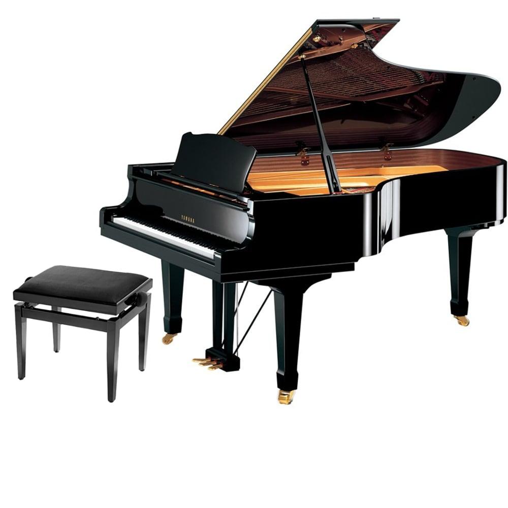 Yamaha dc7x e3 pro disklavier grand piano from rimmers music for Yamaha disklavier grand piano