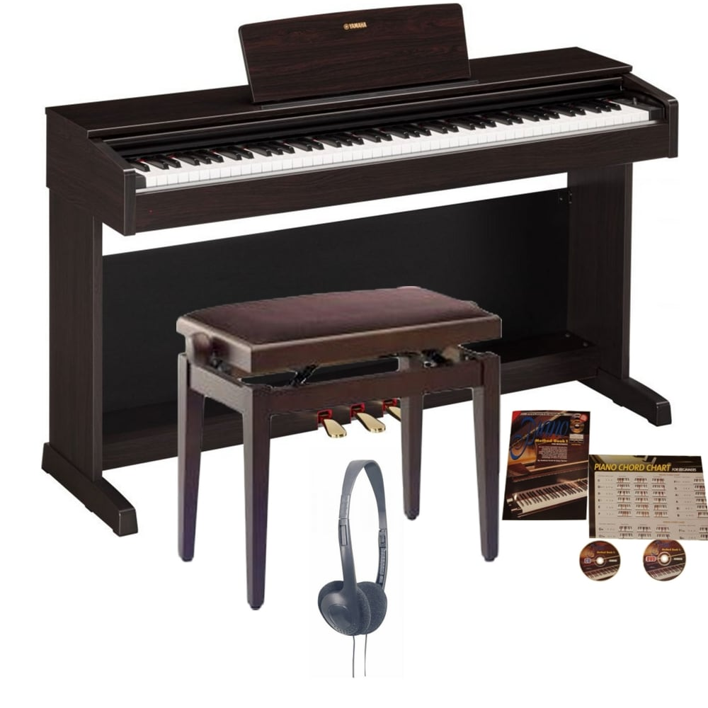Yamaha ydp 143 arius digitalpiano rosewood bundle from for Yamaha digital piano dealers