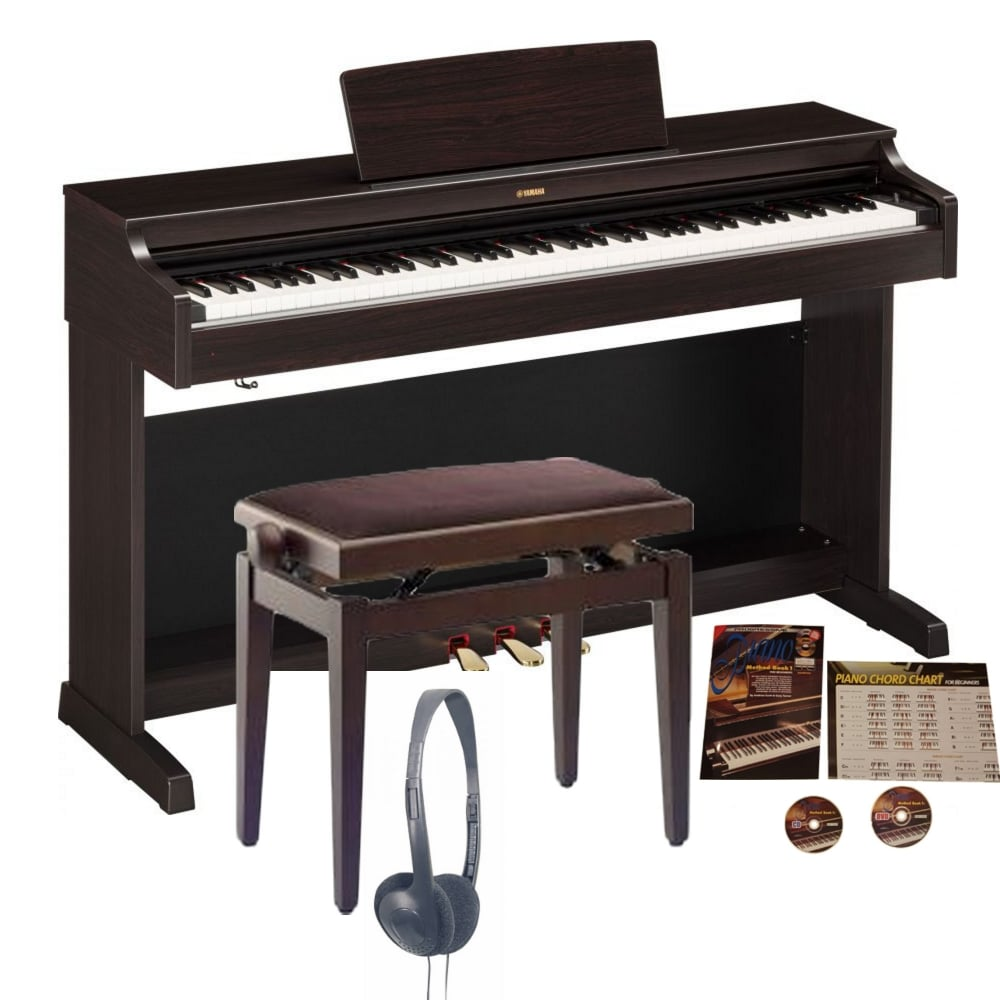 yamaha ydp 163 digital piano rosewood bundle from rimmers. Black Bedroom Furniture Sets. Home Design Ideas