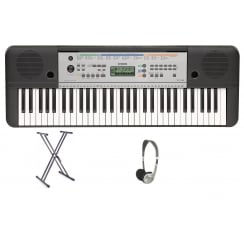 YPT255 Keyboard with X Frame Stand & Headphones